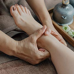 Thai Style Foot and Leg Massage